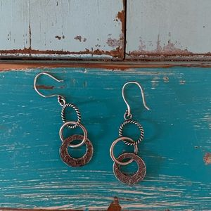 Silpada sterling dangle earrings